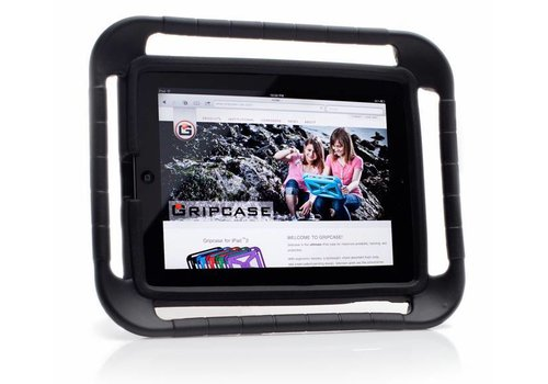 "Parotec-IT Gripcase iPad 5-iPad Air iPad Air 2 iPad Pro 9.7"" zwart"