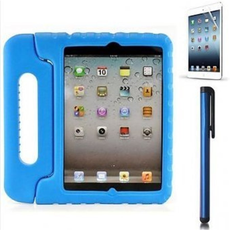 iPad kidscover case in the classroom blue-1