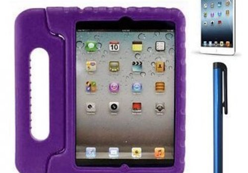 KidsCover casing KidsCover for iPad in de klas paars