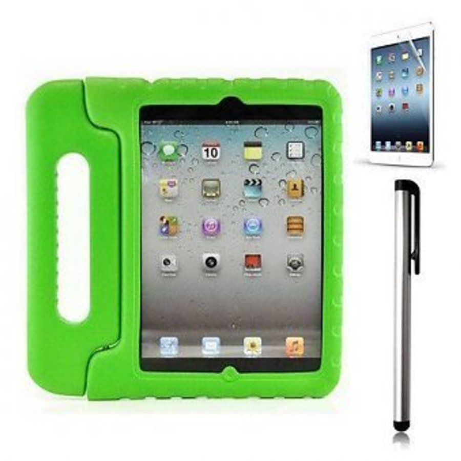 iPad kidscover case in the classroom green-1