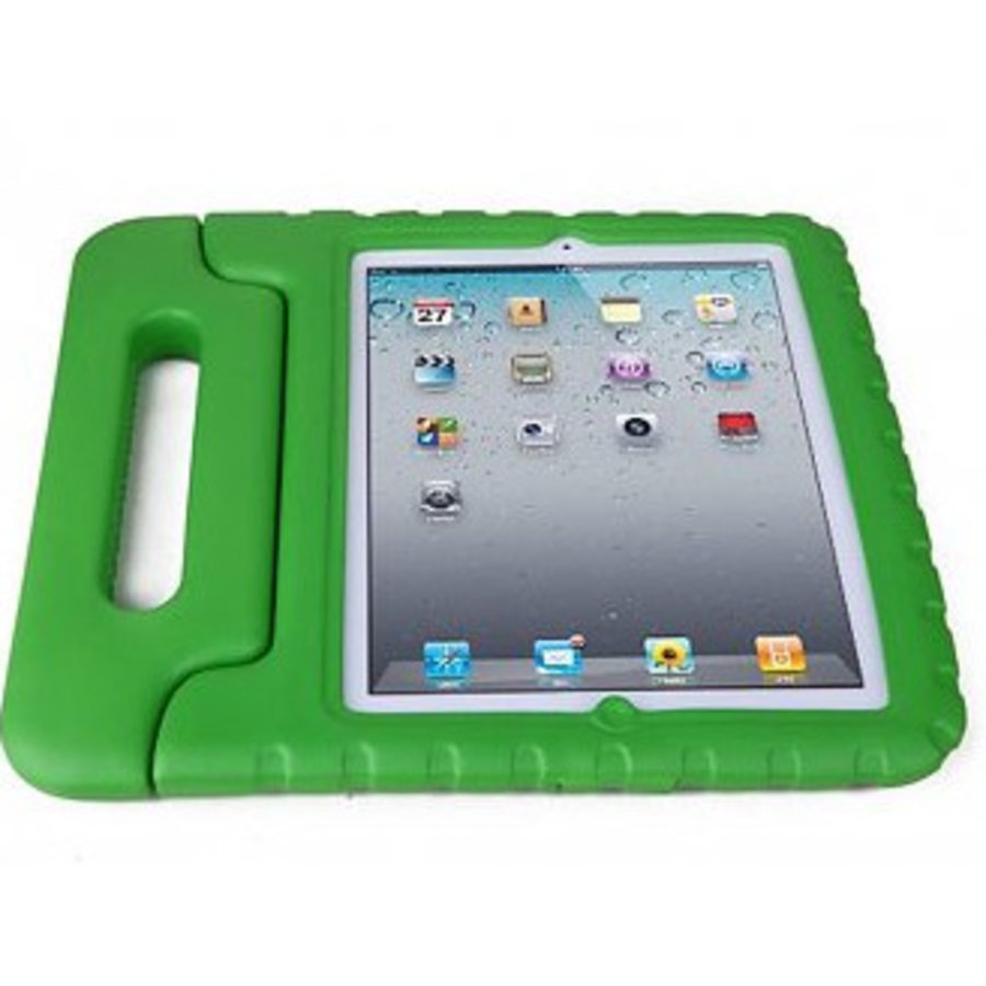 iPad kidscover case in the classroom green-2