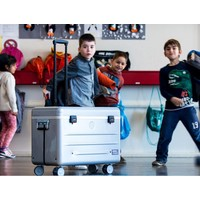 thumb-Mobile chargingstation for maximum 20 iPads or tablets, i20 trolley case, without compartments silver-2