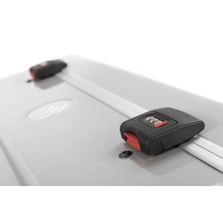 Mobiel oplaadstation voor maximaal 20 iPads of tablets, i20 trolley koffer, zonder compartimenten zilver-8