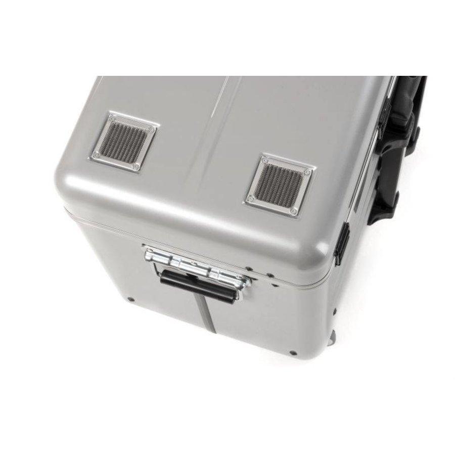 Mobiel oplaadstation voor maximaal 20 iPads of tablets, i20 trolley koffer, zonder compartimenten zilver-9
