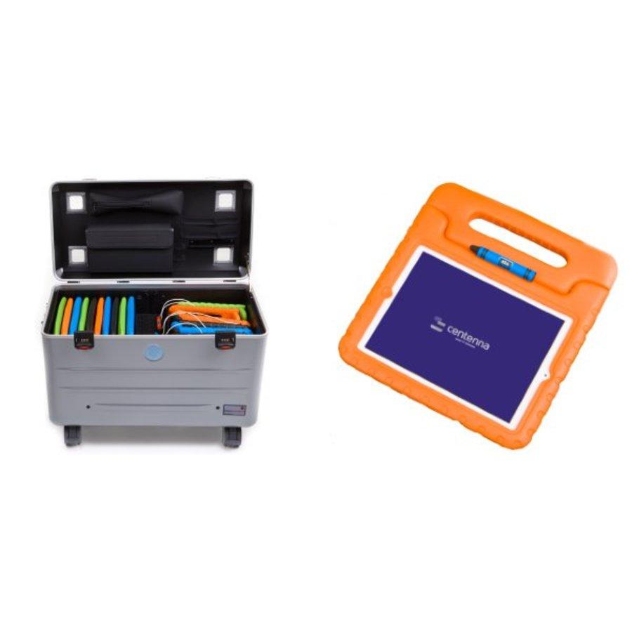 Charge & Sync koffer inclusief kabels voor iPads en tablets, i16-KC-3