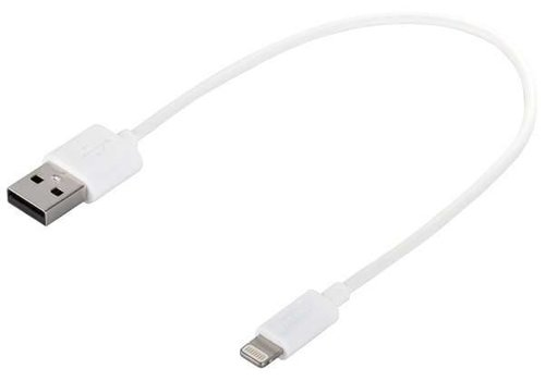 Parat charging cable 0,2m/ 0,4m/ 1,0m white USB - lightning connector