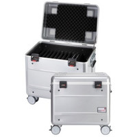 """thumb-Mobile charging station for 10x 15"""" Chromebooks, c10 trolley case, with 10 compartments.-1"""
