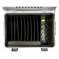 """thumb-Mobile charging station for 10x 15"""" Chromebooks, c10 trolley case, with 10 compartments.-3"""