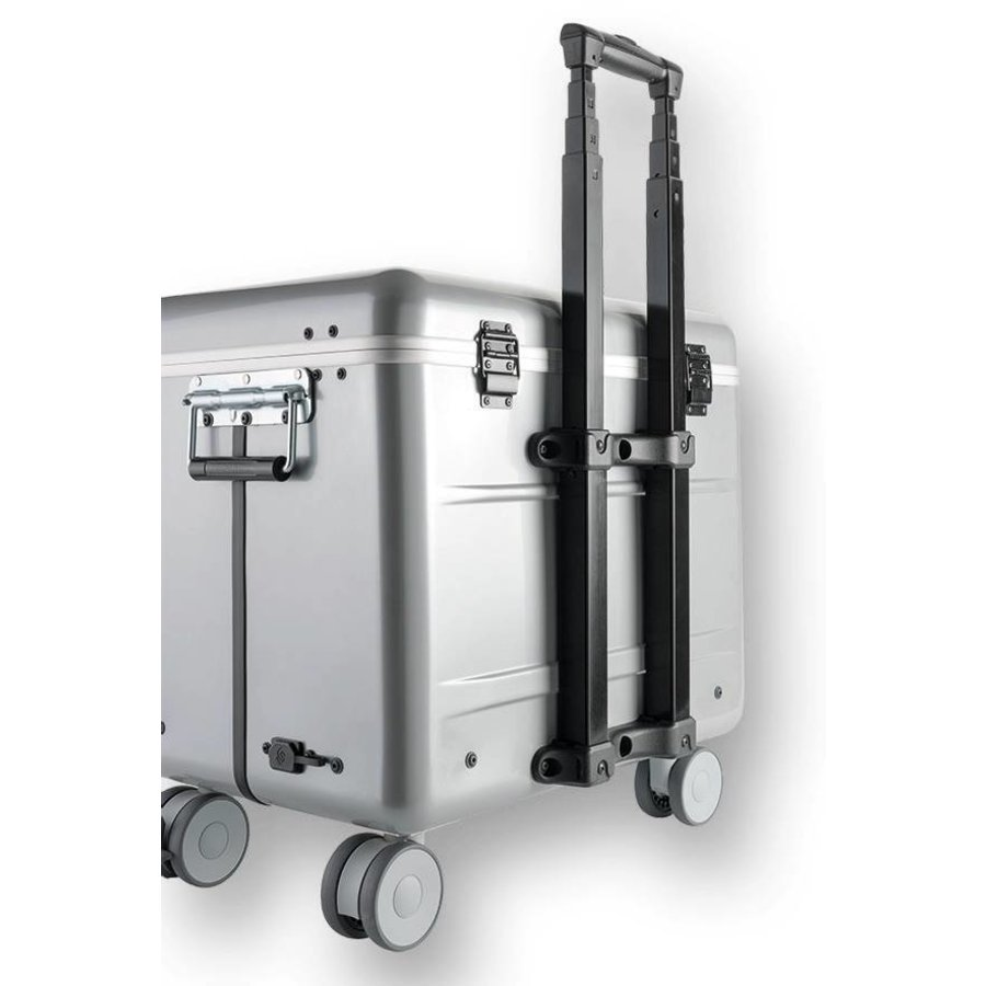 """Mobile charging station for 10x 15"""" Chromebooks, c10 trolley case, with 10 compartments.-6"""