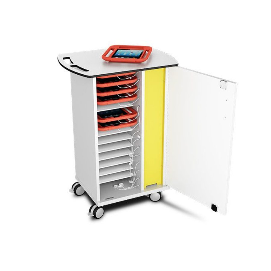 charge trolley for 15 tablets in thick EVA foam cases such as KidsCover-1
