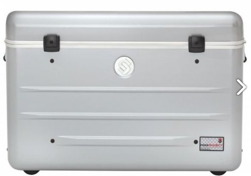 Parat charge N16 trolley koffer voor tablets of notebooks met 16 vakken in het zilvergrijs