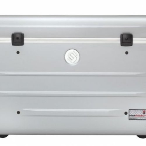 Parat charge N16 trolley case for tablets or notebooks with 16 compartments in silver grey
