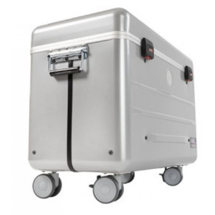 """Paraproject N16 trolley case for 16x 11.6'' tablets or notebooks until 12"""" silver-1"""