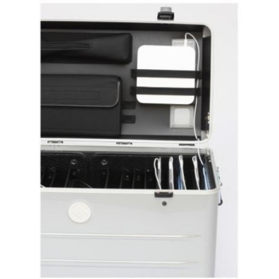 """Paraproject N16 trolley case for 16x 11.6'' tablets or notebooks until 12"""" silver-4"""