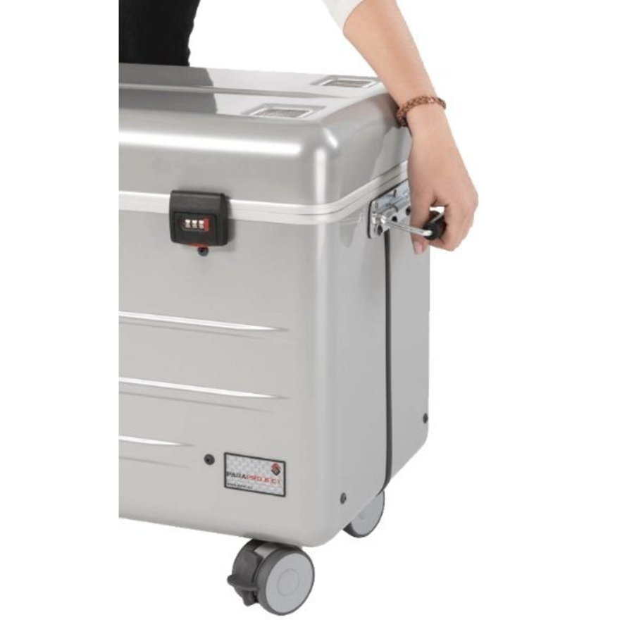 """Paraproject N16 trolley case for 16x 11.6'' tablets or notebooks until 12"""" silver-5"""