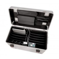thumb-Parat N10 trolley case for Notebooks 10x 15,6'' in silver-3