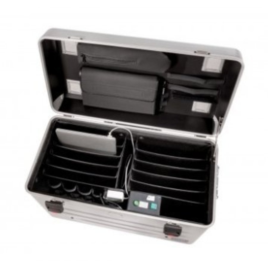 Parat N10 trolley case for Notebooks 10x 15,6'' in silver-3