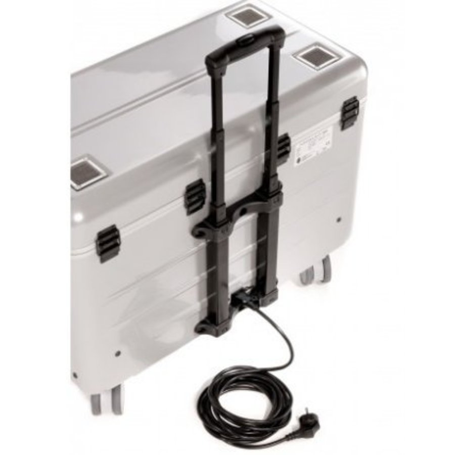 Parat N10 trolley case for Notebooks 10x 15,6'' in silver-4