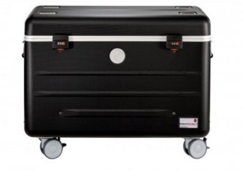 Parat charge N10 trolley case with 10 compartments in black