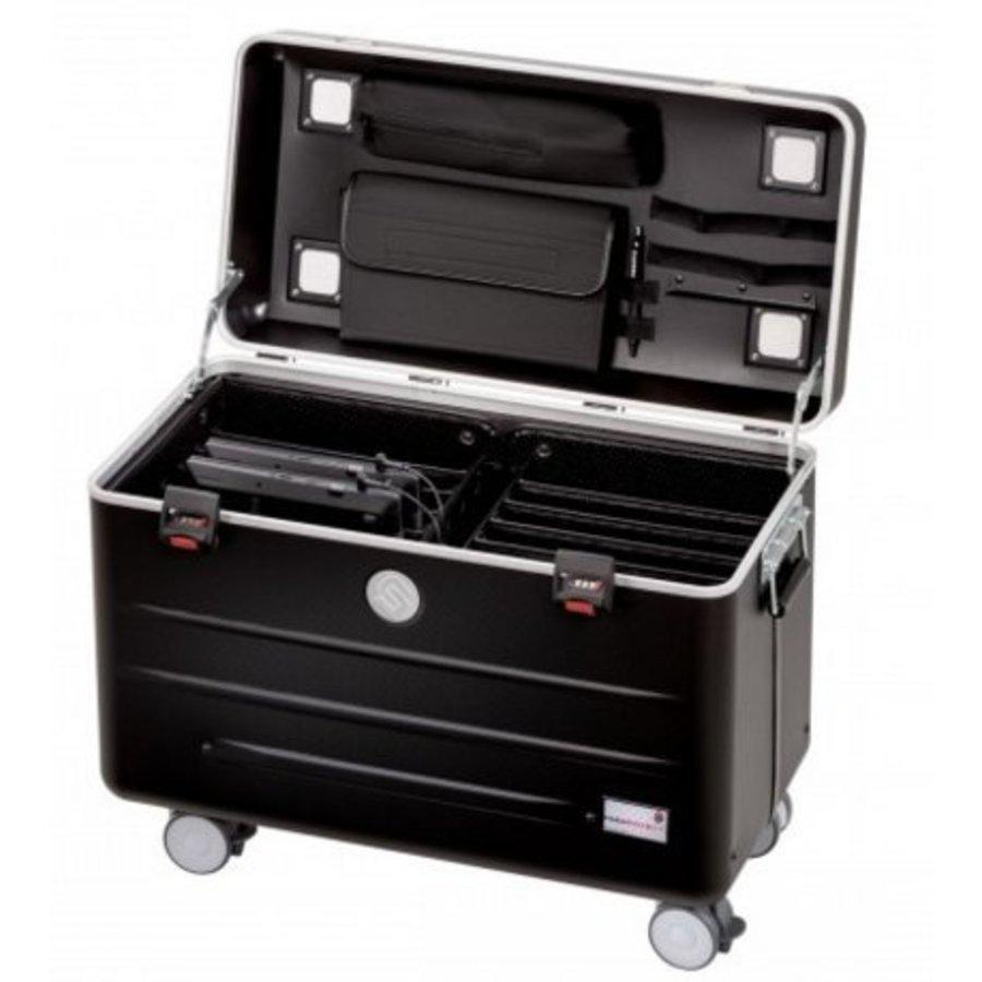 Parat N10 trolley case black for 10 Notebooks until 15,6 inch-1