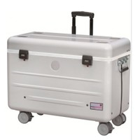 thumb-Paraproject N12 trolley case charge only silver-2