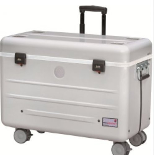 Parat charge N12 trolley case for notebooks in silver grey