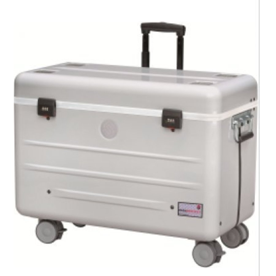 Paraproject N12 trolley case charge only silver-2