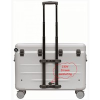 thumb-Paraproject N12 trolley case charge only silver-1