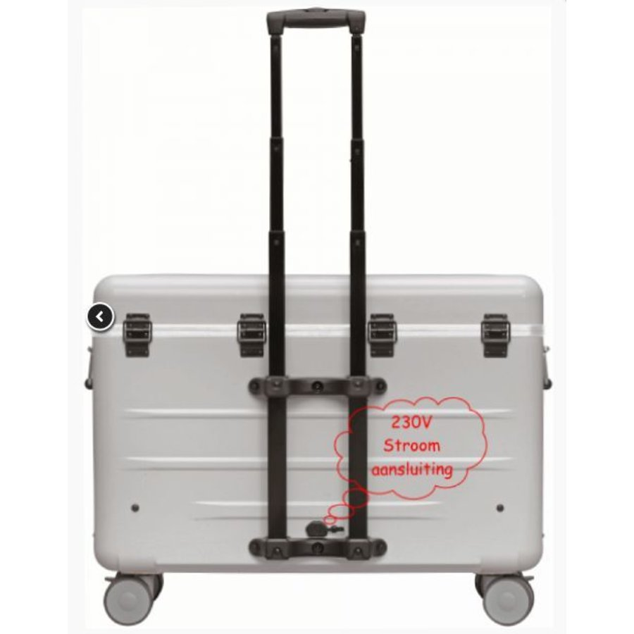 Paraproject N12 trolley case charge only silver-1