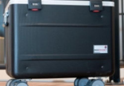 Parat charge N12 trolley koffer voor notebooks in het zwart