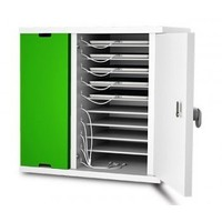 thumb-lockable charging cabinet wit 10 bays for tablet and iPad until 11 inch-2