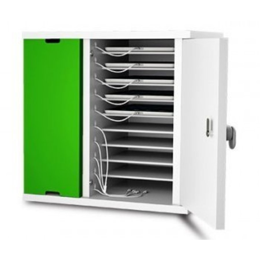 lockable charging cabinet wit 10 bays for tablet and iPad until 11 inch-2