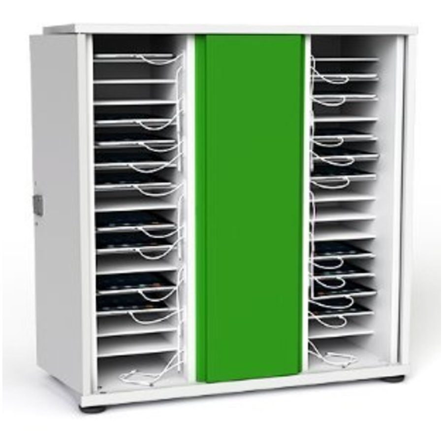 lockable charging cabinet with two times 16 bays for tablet and iPad until 11 inch-1