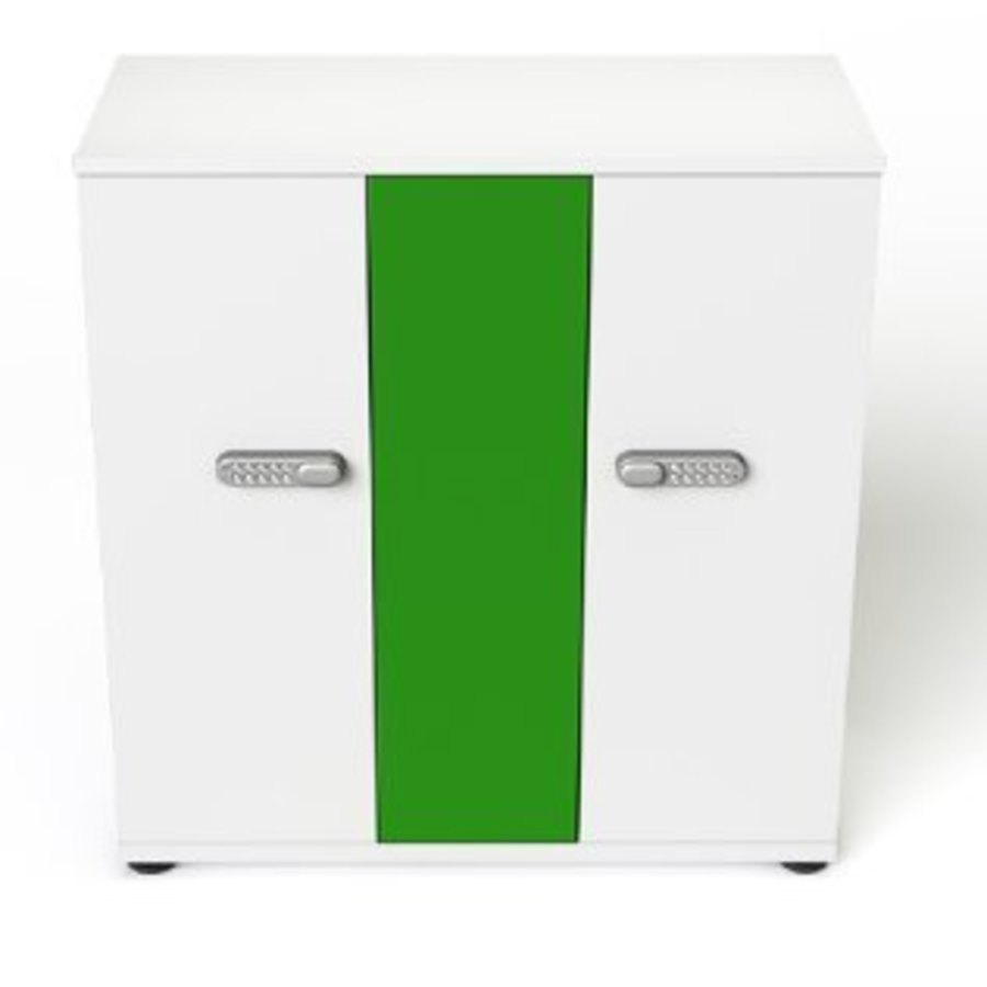 lockable charging cabinet with two times 16 bays for tablet and iPad until 11 inch-2