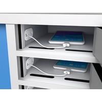 thumb-Locker with 10 storage individually lockable compartments for smartphones-2