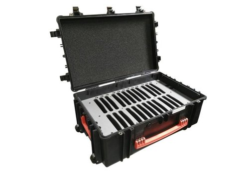 "Parotec-IT charge & sync C12 case for 24 iPads and 9""-10"" tablets without and with protective cover"