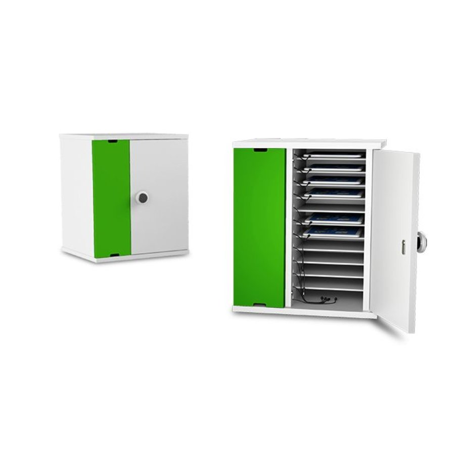 lockable charging cabinet wit 10 bays for tablet and iPad until 11 inch-4