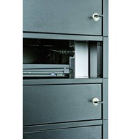 thumb-Leba Note Locker 12 charging and storage cabinet with 12 separate, lockable and storage spaces-1