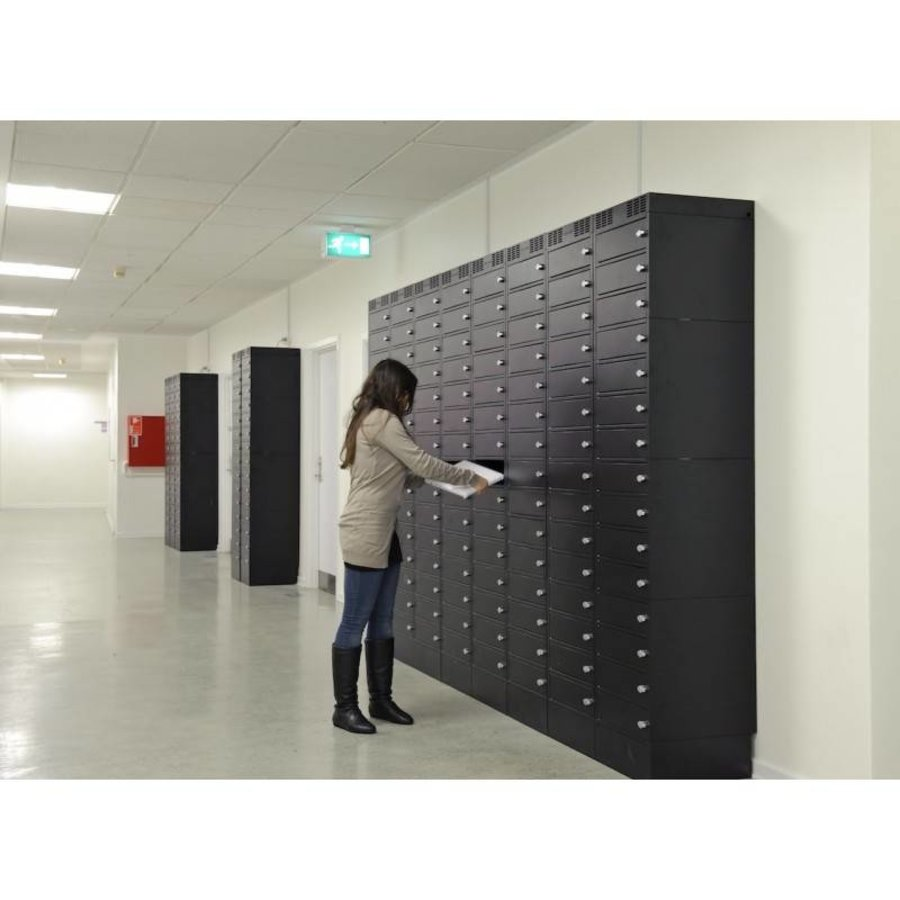 Leba Note Locker 12 charging and storage cabinet with 12 separate, lockable and storage spaces-5
