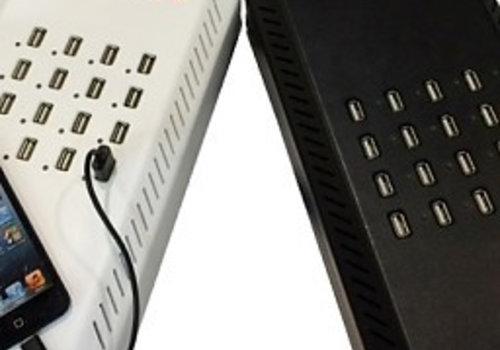 Parotec-IT charge & sync DU16 desktop laadstation met 16 USB aansluitingen