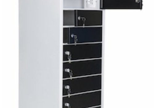 Parotec-IT charge locker 10 compartments for Chromebooks/ Macbooks/ Notebooks/ tablets till and with 15,6""