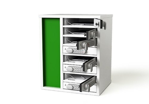 Zioxi charge cabinet for tablets with 10 compartments individually lockable