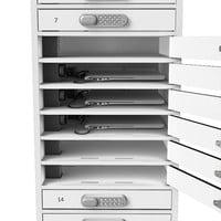 thumb-BYOD charging locker 1:1 laptop / tablets 20 individual lockable bays with mains power socket-4