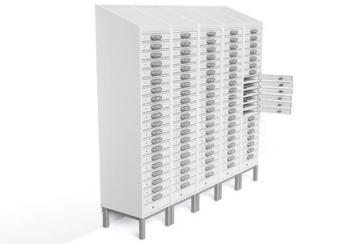 Zioxi charge locker 20 compartments for Chromebooks/ Macbooks/ Notebooks/ tablets till 15,6""