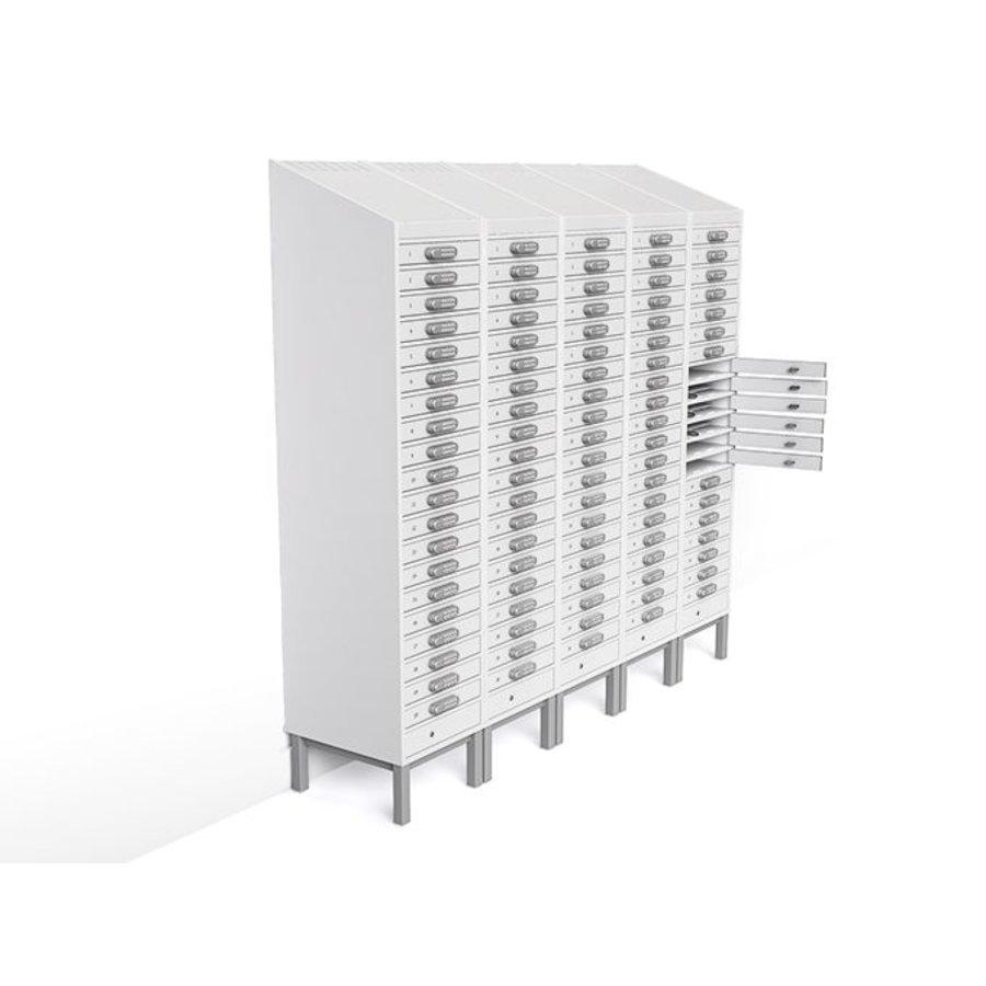 BYOD charging locker 1:1 laptop / tablets 20 individual lockable bays with mains power socket-1
