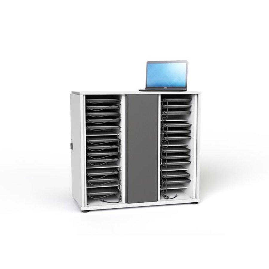 Zioxi Oplaadkast Voor 32 Chromebooks Tot 14 Inch Met Slot Afsluitbaar