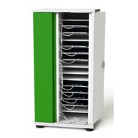 lockable charging cabinet with 16 bays for tablet and iPad until 11 inch