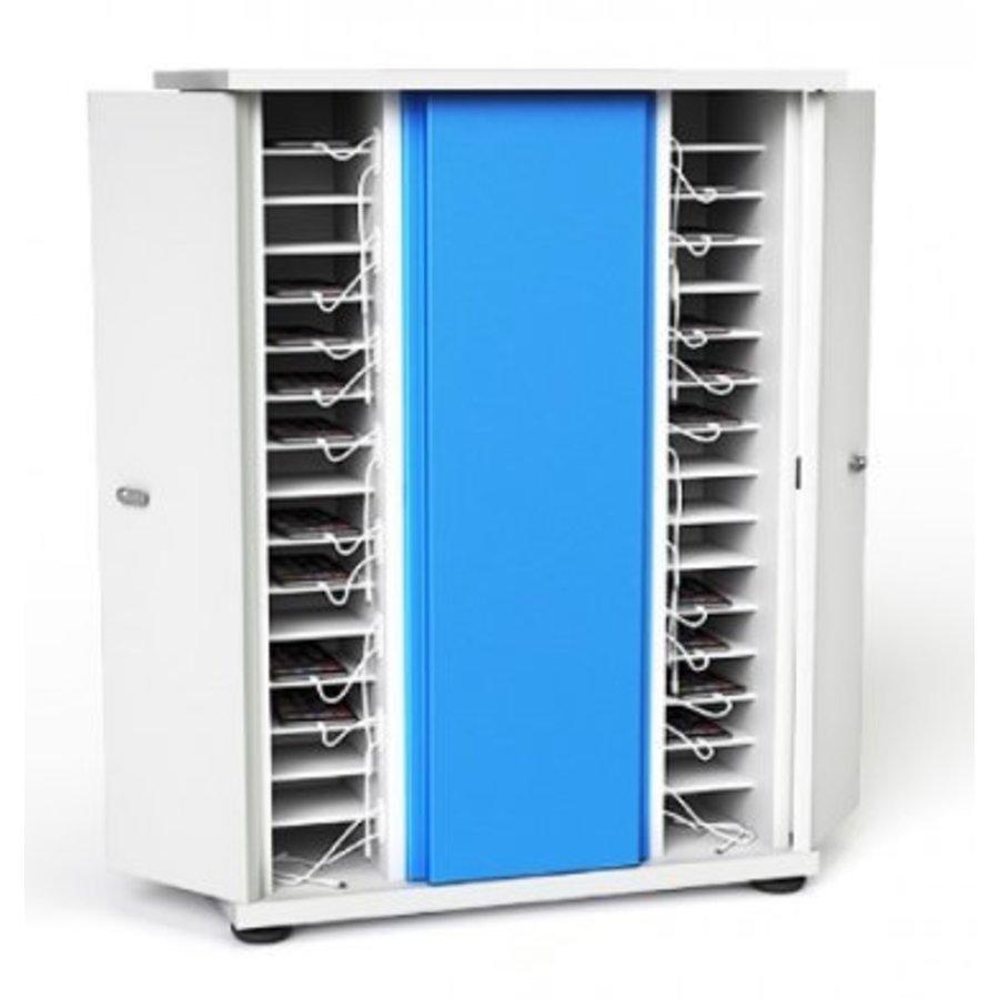 Afsluitbare oplaadkast voor 40 apparaten tot 7 inch; smartphone, iPod-2