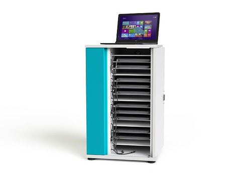 """Zioxi charging cabinet for 16 Chromebooks laptops notebooks till 15.6"""""""