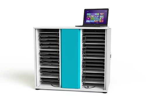 """Zioxi charging cabinet for 32 Chromebooks laptops notebooks till 15.6"""""""